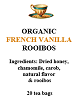 French Vanilla Rooibos Tea Bags