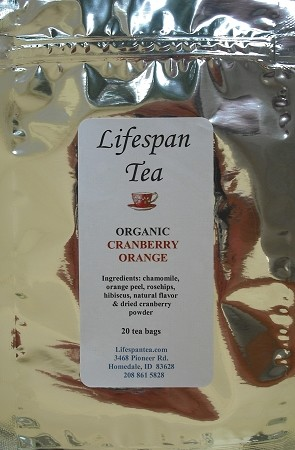 Cranberry Orange (20 Tea Bags)