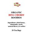 Bing Cherry 20 Tea Bags