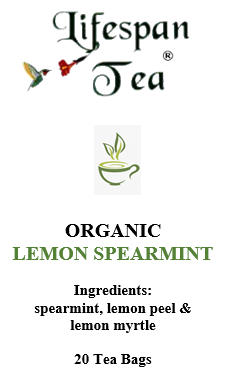 Lemon Spearmint (20 Tea Bags)